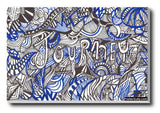 Wall Art, Abstract Journey Doodle Art | Artist: Needhi Dhoker, - PosterGully - 3