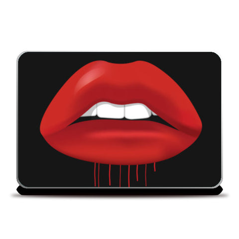 Lips Laptop Skins | Artist : Scatterred Partikles