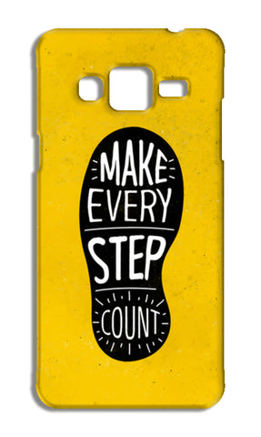 Make Every Step Count Samsung Galaxy J3 2016 Cases | Artist : Inderpreet Singh