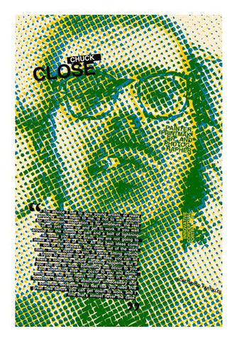 Chuck Close Wall Art PosterGully Specials