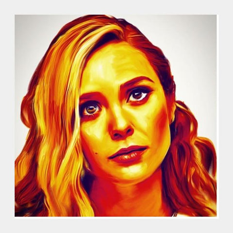 Elisabeth Olsen Square Art Prints PosterGully Specials