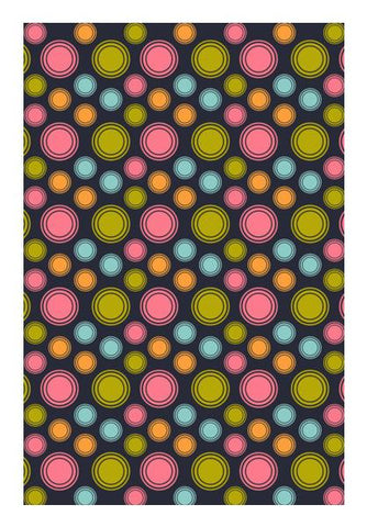 PosterGully Specials, Multicolored repeating circles Wall Art | Artist : Designerchennai, - PosterGully