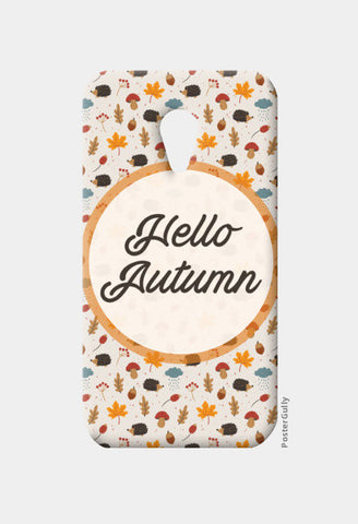 hello autumn Moto G2 Cases | Artist : DISHA BHANOT