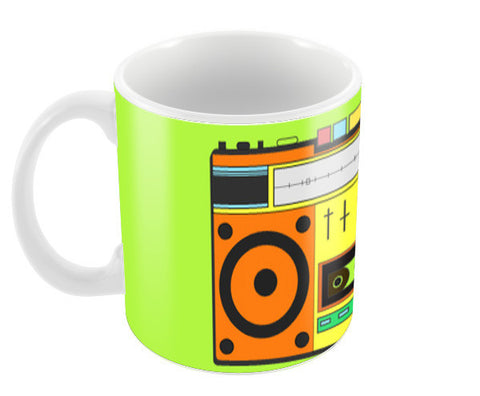 bOOMbOX Coffee Mugs | Artist : C-zure