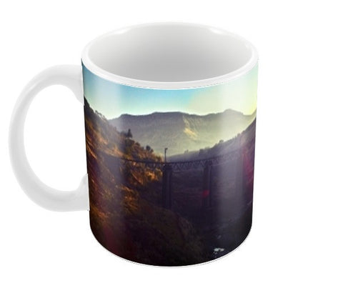 The Train Traveller Coffee Mugs | Artist : Richard Howardson