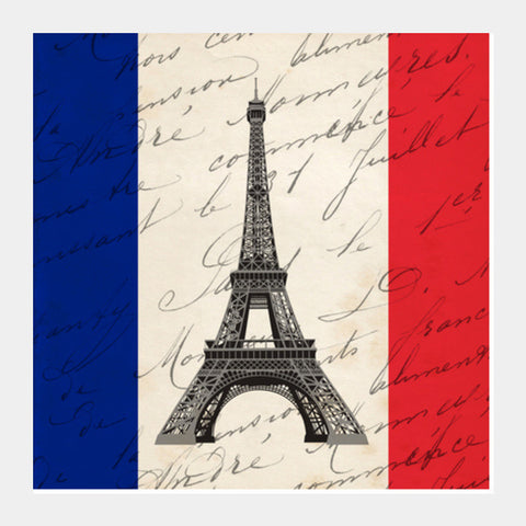 Paris Square Art Prints | Artist : Vaishak Seraphim