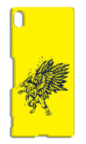 Mythology Bird Sony Xperia Z4 Cases | Artist : Inderpreet Singh