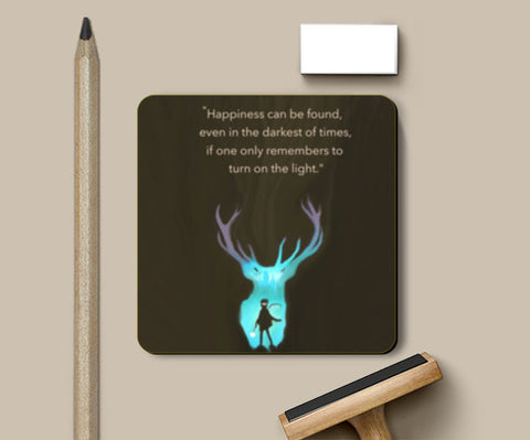 Harry Potter Quote Coasters | Artist : saurabhzuve