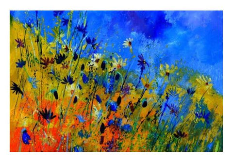 PosterGully Specials, cornflowers 36363 Wall Art  | Artist : pol ledent, - PosterGully