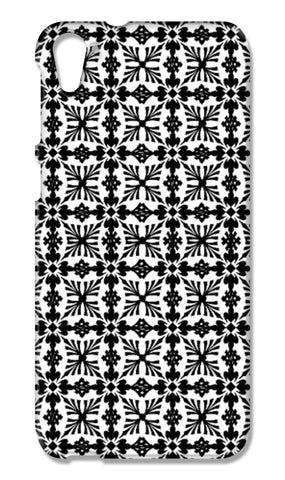 Tribal Black And White Geometric Ornate Pattern HTC Desire 826 Cases | Artist : Seema Hooda