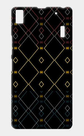 Pattern design in black Lenovo K3 Note Cases | Artist : Amar Singha