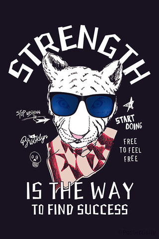 Cheetah Strength Is The Way To Find Success Intricate Artwork