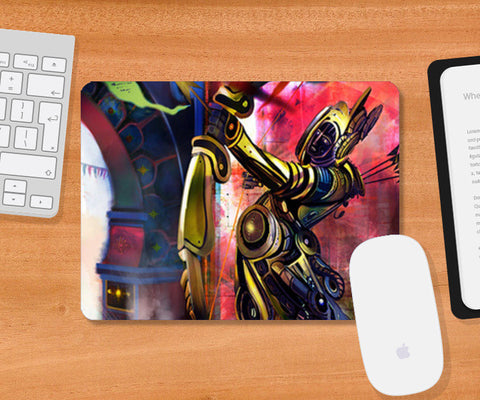 Steam Punk Art Mousepad | Artist : Rajat Pandit