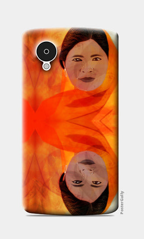 Becoming The Fire - Indian Woman Nexus 5 Cases | Artist : Rameshwar Chawla