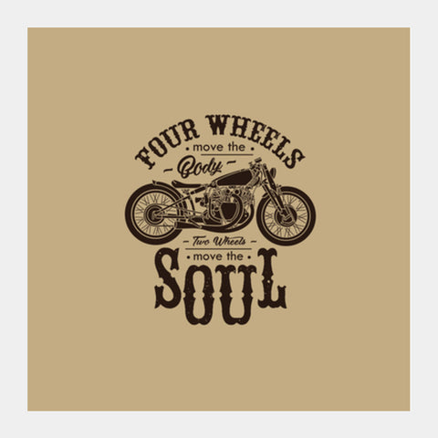 Motorcycle Club Square Art Prints | Artist : Inderpreet Singh