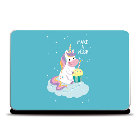 make a wish unicorn Laptop Skins | Artist : Creative DJ