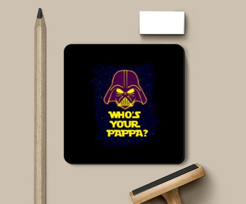 Coasters, Who's Your Pappa Coasters | Artist : Random Chinese Friend, - PosterGully