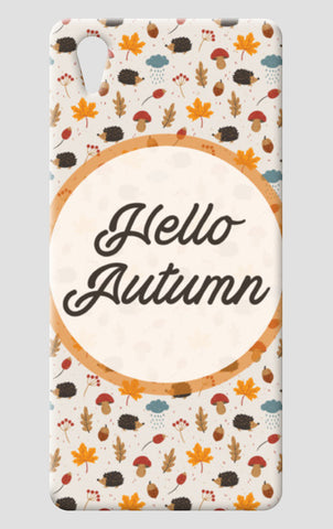 hello autumn One Plus X Cases | Artist : DISHA BHANOT