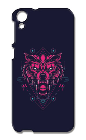The Wolf HTC Desire 820 Cases | Artist : Inderpreet Singh