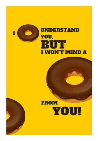 Wall Art, I donut understand you |  Wall Art | Artist : Nikhil Wad, - PosterGully
