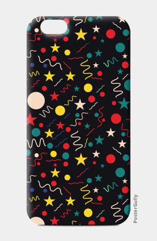 Seamless abstract pattern with geometric shapes iPhone 6/6S Cases | Artist : Designerchennai