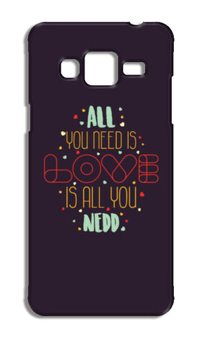 All you need is love is all you need Samsung Galaxy J3 2016 Cases | Artist : Designerchennai