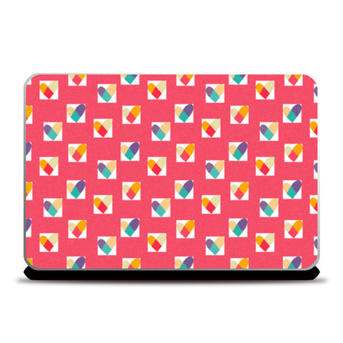 Laptop Skins, Heart in a Box (Pink) Laptop Skins | Artist : Tanvi C, - PosterGully