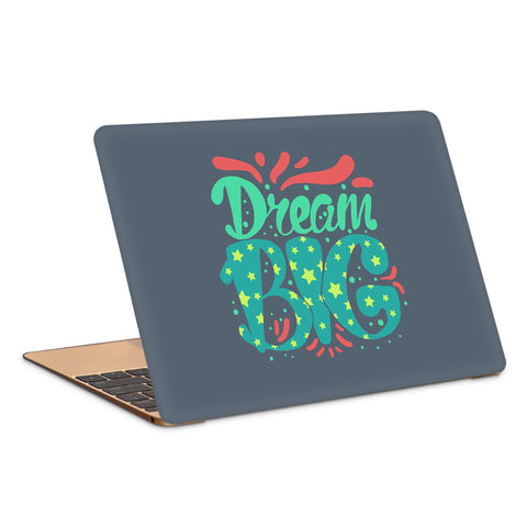 Dream Big Cute Artwork Laptop Skin