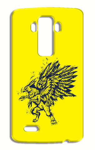Mythology Bird LG G4 Cases | Artist : Inderpreet Singh