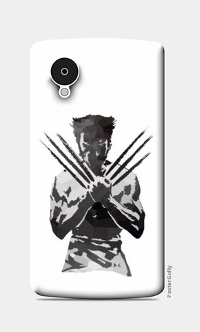 Nexus 5 Cases, Low Poly Wolverine Nexus 5 Case | Artist: Darshan Gajara, - PosterGully