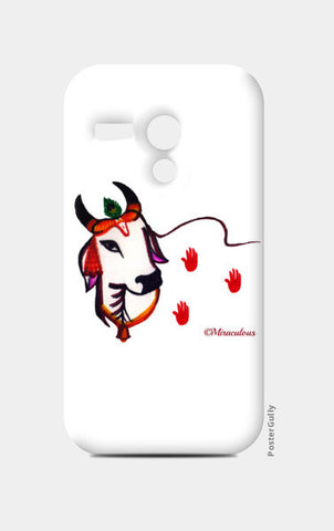 Gaiya | The adorable Indian Cow Moto G Cases | Artist : Miraculous