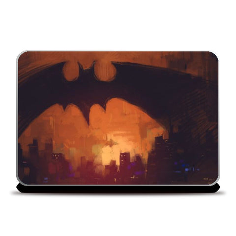 Laptop Skins, Bat City Laptop Skin | Artist: Aniruddha Lele, - PosterGully