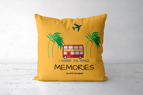 Travel Memories Cushion Covers | Artist : Pallavi Rawal