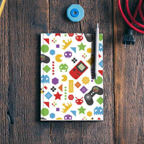 Video Games Notebook | Artist : Colour me expressive