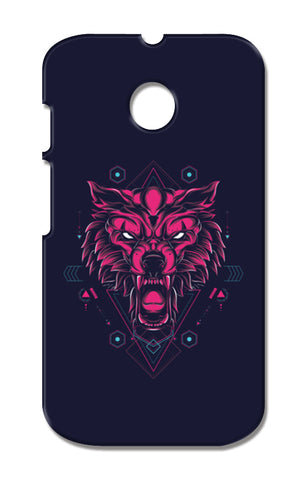The Wolf Moto E XT1021 Cases | Artist : Inderpreet Singh