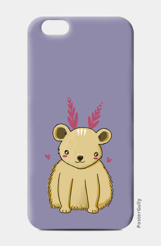 Cute Baby Bear  iPhone 6/6S Cases | Artist : Prajakta Rao