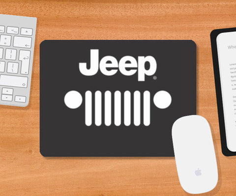 Mousepad, Jeep Mousepad | Artist : Manjeeth Shenoy, - PosterGully