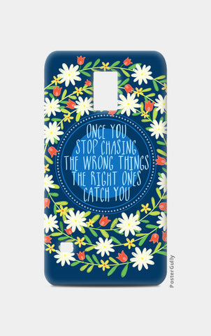 MOTIVATIONAL QUOTE Samsung S5 Cases | Artist : Paper Pankh