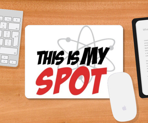 Mousepad, This is my spot Mousepad | Artist : Shloka Bajaj, - PosterGully