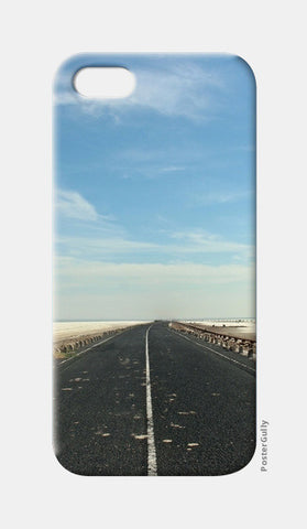 White salt lake Mobile case iPhone 5 Cases | Artist : The Storygrapher