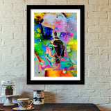 The Buddha POP Premium Italian Wooden Frames | Artist : Tiny Dots