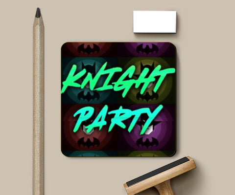 Coasters, Knight Party Coasters | Artist : Jax D, - PosterGully