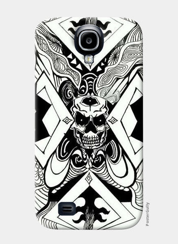 Samsung S4 Cases, invert skull art Samsung S4 Cases | Artist : akash biyani, - PosterGully