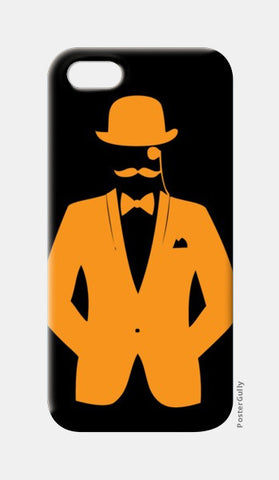 iPhone 5 Cases, HOLLOW MAN-ORANGE iPhone 5 Cases | Artist : Sonia Punyani, - PosterGully