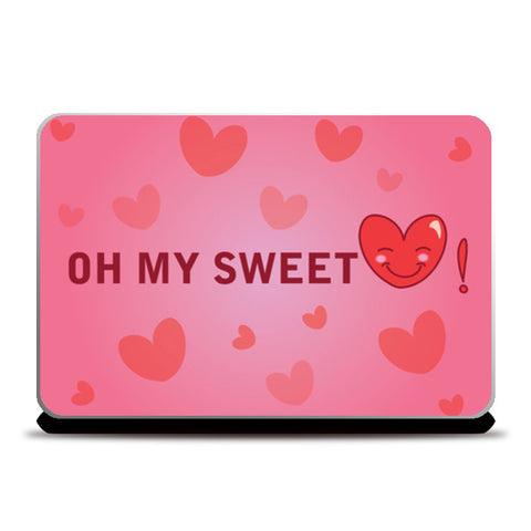 Laptop Skins, Sweetheart Laptop Skins | Artist : Anuj Goyal, - PosterGully
