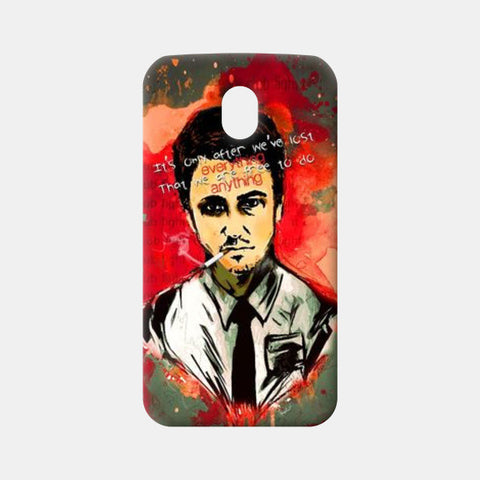 Moto G3 Cases, Fight Club Moto G3 Cases | Artist : Kaushal Faujdar, - PosterGully