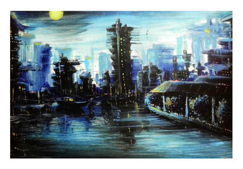 Wall Art, Futuristic - Painting Wall Art  | Artist : Smeet Gusani, - PosterGully