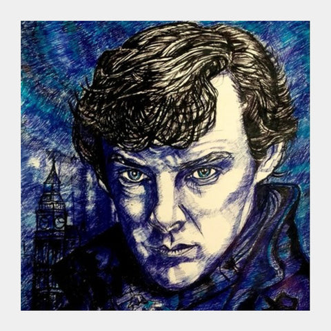 Sherlock Square Art Prints PosterGully Specials