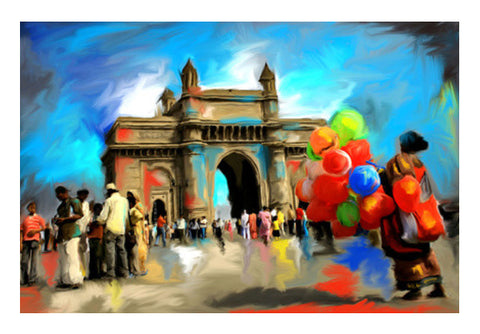 Wall Art, gateway of india Wall Art  | Artist : Pradeesh K, - PosterGully