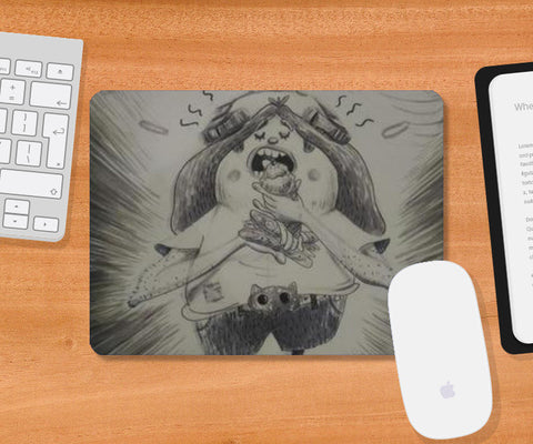 Good Day Mousepad | Artist : Bhukkkad